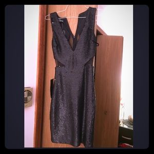2fc2902297a ... Beautiful Bebe dress size xs brand new with tags ...
